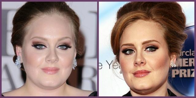 Adele sobrancelhas