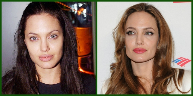 Angelina jolie sobrancelhas