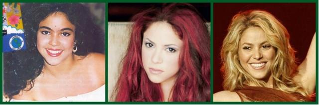 Shakira sobrancelhas
