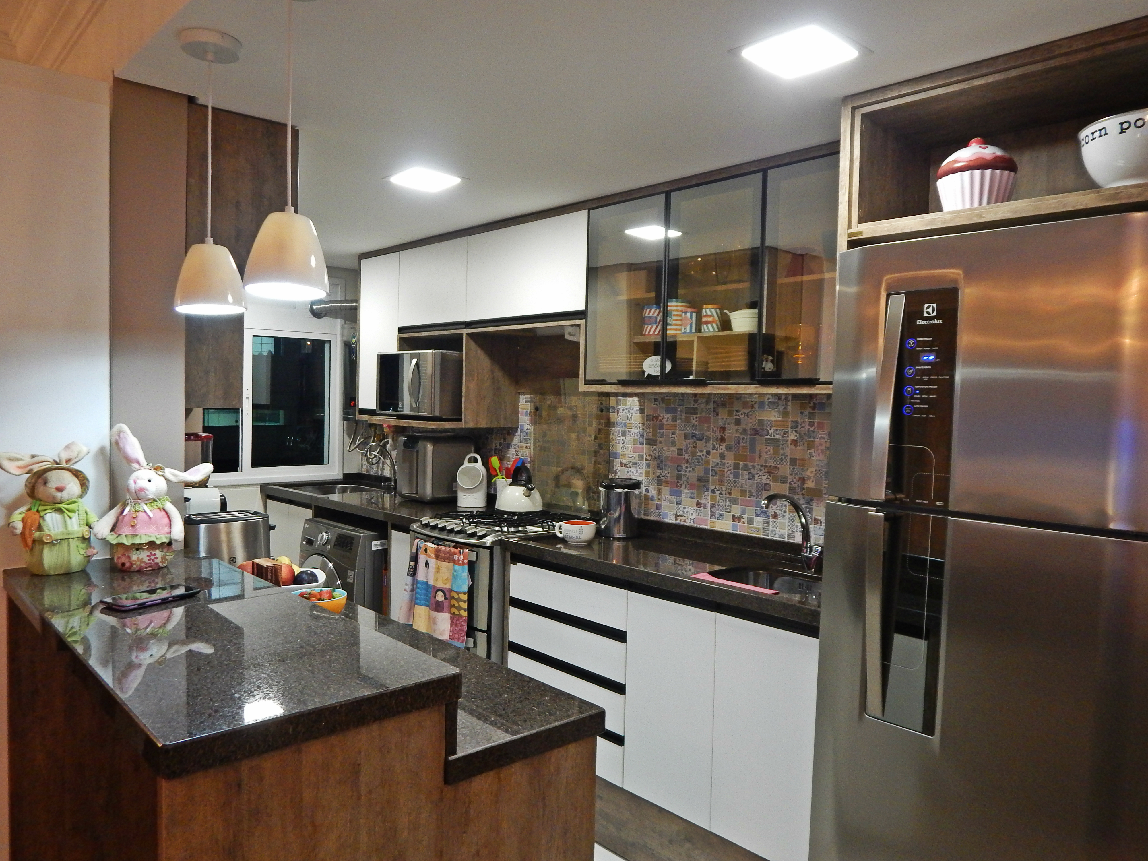 cozinha americana As Rendeiras #925F39 4000 3000