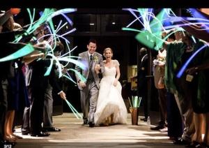 neon para saida dos noivos