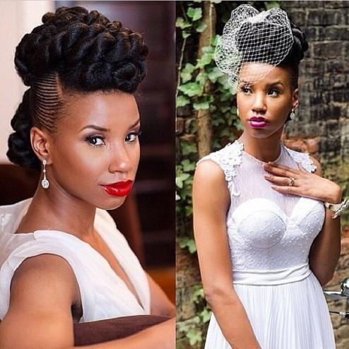 acesório noiva afro cabelo