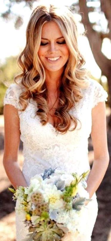cabelos soltos noiva
