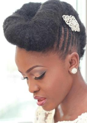 noiva afro estiloso
