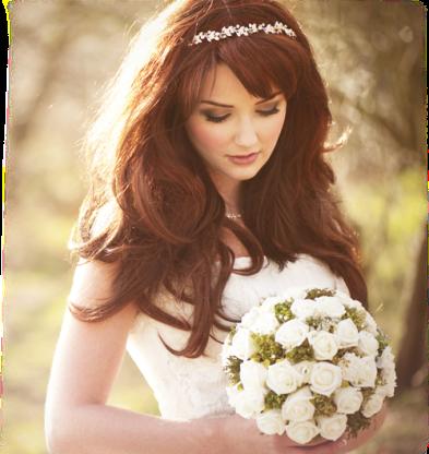 noiva cabelo solto tiara