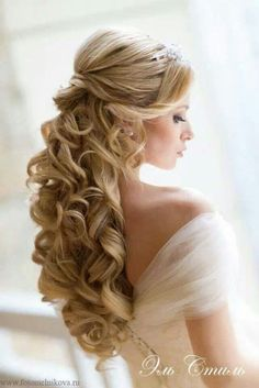 penteado noiva cabelo semi preso